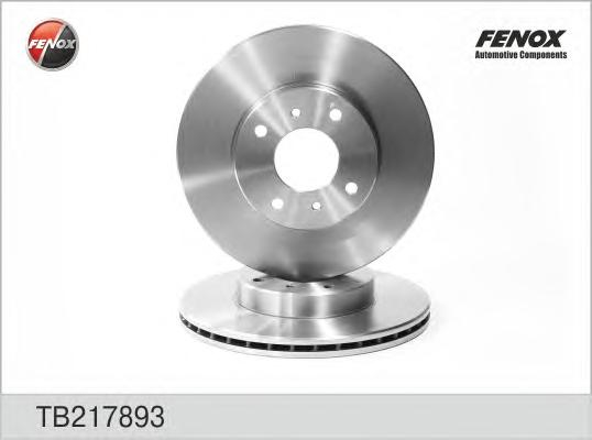 TB217893 Диск тормозной NISSAN ALMERA (N16E) 0006/PRIMERA (P11E) 9602 передний вент.