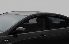 дефлекторы боковых стекол киа рио 2016 седан