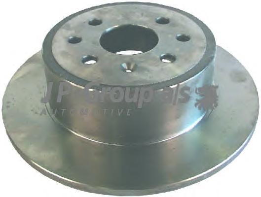 1263201100 Диск тормозной задний / OPEL Vectra-B 1.6 - 1.8 16V/1.7TD - 2.0DTI ( 10-270 ) 95~