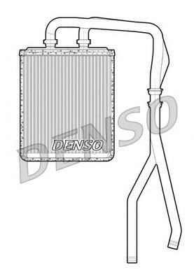 DRR12010 Радиатор отопителя IVECO DAILY 2.2D-3.0D 06-