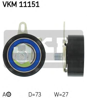 VKM11151 Ролик натяжной ремня ГРМ Audi A4 2.5TDI 09/97-06/02, A6 2.5 TDI 07/97-06/02, A8 2.5TDI 01/97-06/02, VW Passat 2.5TDI 07
