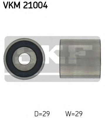 VKM21004 Ролик ремня ГРМ AUDI A3/4/6 G4 BORA VW PASSAT 1.6D/1.8T/1.9D