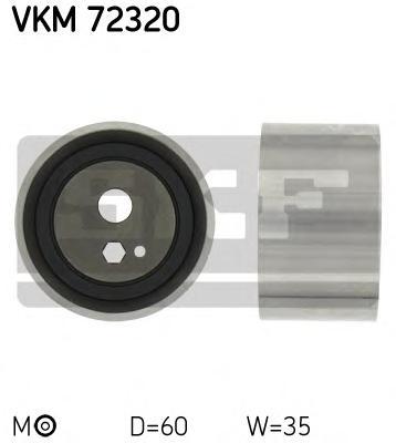 VKM72320 Деталь VKM72320_pолик натяжной pемня ГPМ