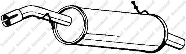 135015 Глушитель CITROEN C3 1.4 02-