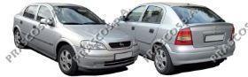 OP0171900 Защита двигателя / OPEL Astra G/H, Zafira