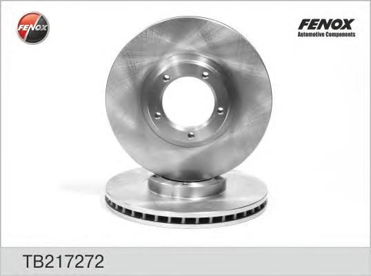TB217272 Диск тормозной FORD TRANSIT 91-00 R14 передний вентилируемый