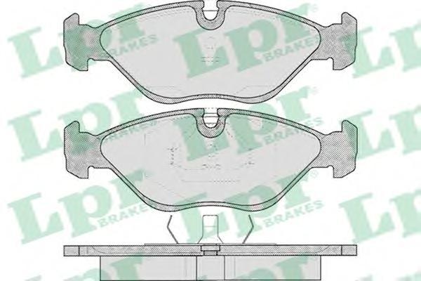 05P310 Колодки тормозные SAAB 900/9000 2.0-3.0 89-98 передние