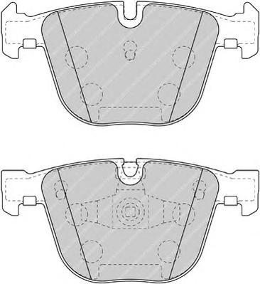 FDB4286 Колодки тормозные BMW F07 GT 535-550 10-/F01/02/03/04 730-760 08- задние