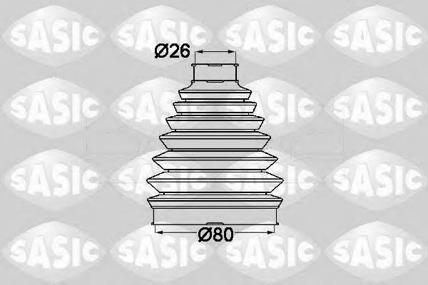 1904013 Пыльник ШРУСа RENAULT DUSTER/MEGANE III наружный