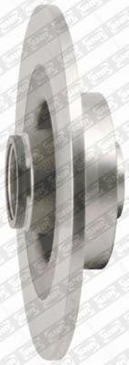KF15578U Диск тормозной RENAULT MEGANE II/SCENIC II 03- задний с подшипником