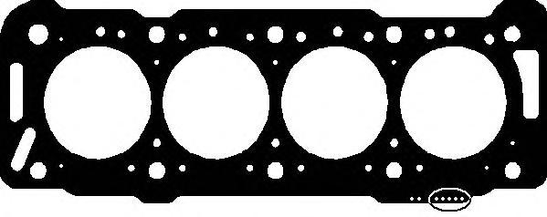 130682 Прокладка ГБЦ Peugeot 306 1.9D DW8  1.42mm 98