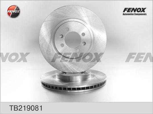 TB219081 Диск тормозной HYUNDAI SANTA FE (SM) 2.0-2.7 01- передний вент.D=294мм.