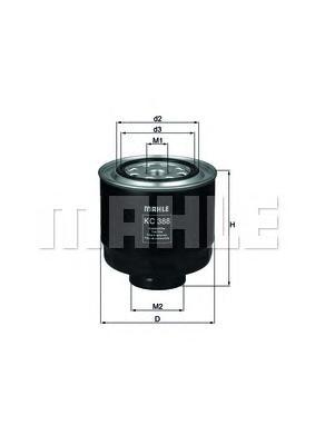 KC388D Фильтр топливный MITSUBISHI L200 2.5DI-D 05-