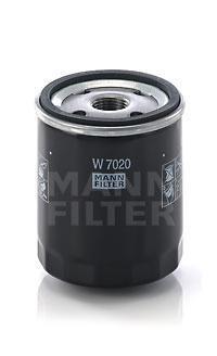 W7020 Фильтр масляный VOLVO C30/S40/S80 1.6-2.0 04-