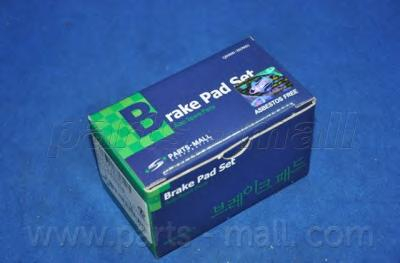 PKC002 Колодки тормозные OPEL KADETT E/DAEWOO NEXIA 8v R13 передние