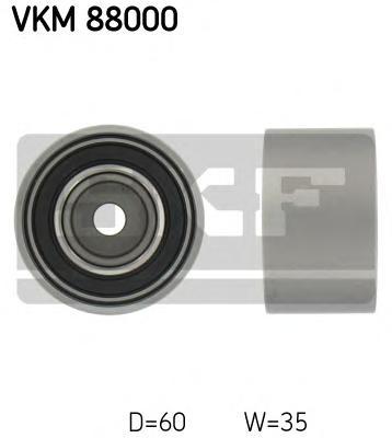 VKM88000 Ролик ремня ГРМ IMPRESA/FORESTER 1.6-2.5