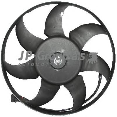 1199104500 Вентилятор радиатора (450/350Watt- 345mm) / VW Transporter T-4 1.8-2.8 96~