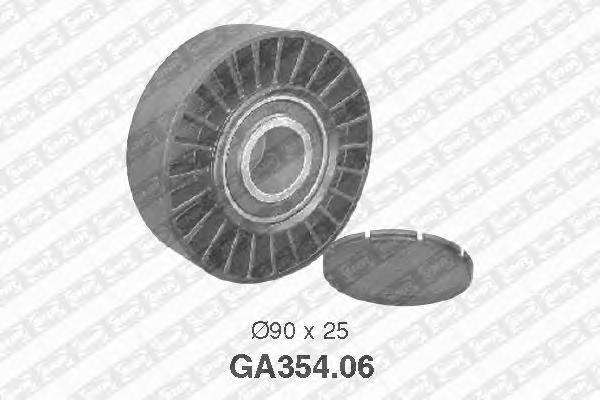 GA35406 Ролик ремня приводного VW PASSAT/LT/T4 1.8-2.5D