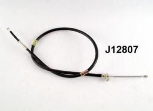 J12807 Трос ручного тормоза TOYOTA COROLLA 92-00 лев.