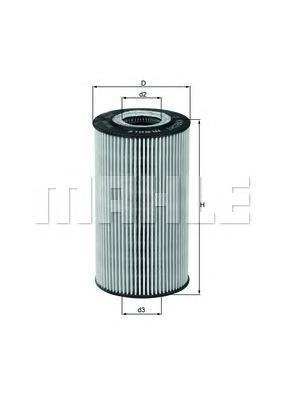 OX169D Фильтр масляный MB W220 S400CDI/G 400CDI