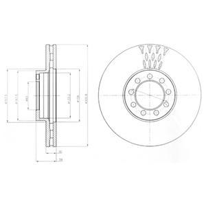 bg9062 Тормозной диск