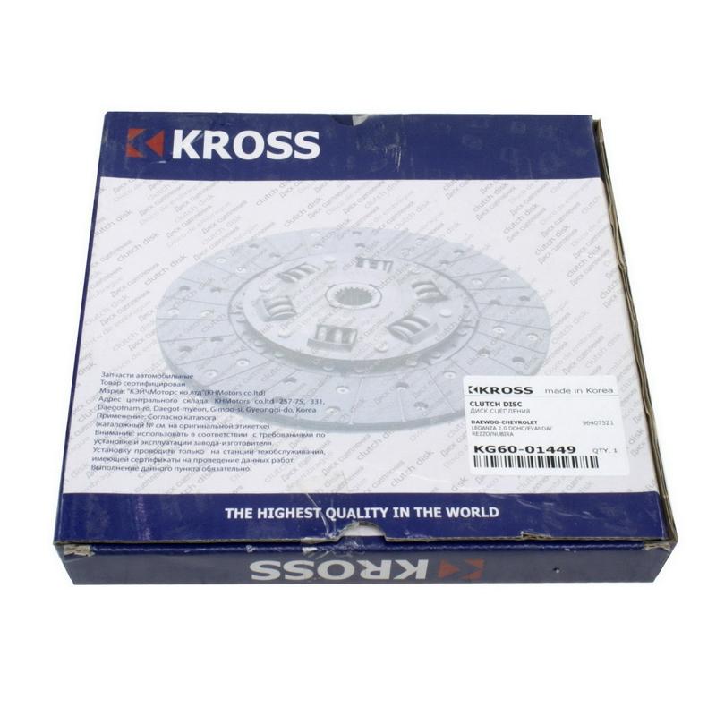 KG6001449 Диск сцепления CRUZE 1.6