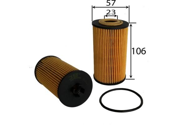 EO65090 Фильтр масляный OPEL/CHEVROLET 1.0/1.2/1.4/1.6/1.8 04-