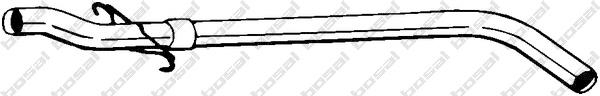 845099 Труба соединительная RENAULT MEGANE 1.9D 95-02