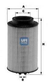2601100 Топливный фильтр