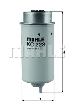 KC223 Фильтр топливный FORD TRANSIT 2.4 TDCI 06-