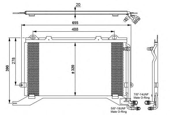 35240 Конденсатор MB W210 E250D - E300TD