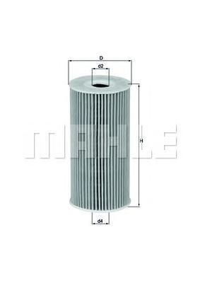 OX377D Фильтр масляный KIA SORENTO/SPORTAGE/HYUNDAI IX35 10- 2.0/2.2 CRDI 09-