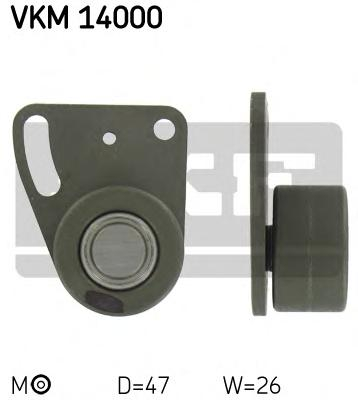 VKM14000 Ролик натяжной ремня ГРМ Ford Granada/Scorpio/Sierra/Transit 82-93