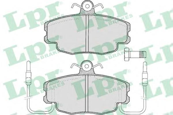 05P220 Колодки тормозные RENAULT LOGAN 04-/SANDERO 08-/CLIO 91- передние с датчиком
