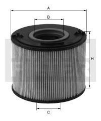 PU8013Z Фильтр топливный OPEL ASTRA H/OMEGA B/MERIVA 1.7D/2.2D