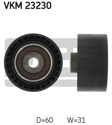 VKM23230 Ролик промежуточный ремня ГРМ Citroen C5. Fiat Ulysse. Peugeot 406 1.8i-2.2i 00