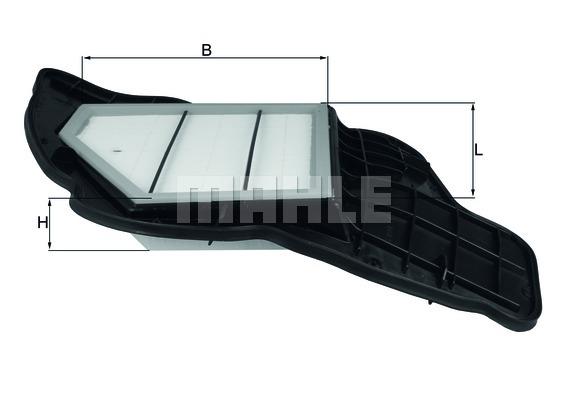 LX16845 Фильтр воздушный BMW F07/10/12/01/02/E70/71 5.0 5-8 цил.