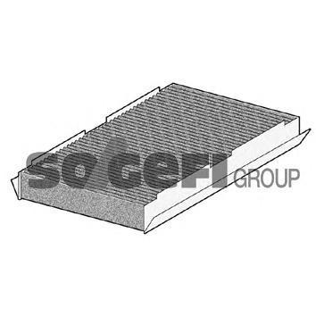 AHC319 Фильтр салона угольный CITROEN: C2 03-, C2 ENTERPRISE 09-, C3 02-, C3 II 09-, C3 Picasso 09-, C3 Pluriel 03-, C4 09-, C4