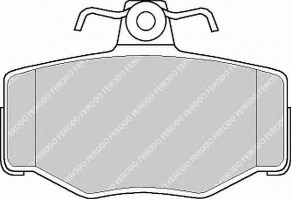 FDB707 Колодки тормозные NISSAN ALMERA 00/PRIMERA 9002 задние