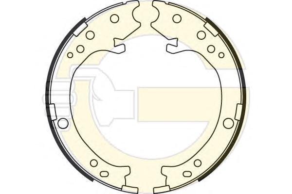 5187799 Колодки ст.тормоза HONDA CR-V II 02-06