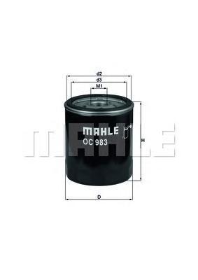 OC983 Фильтр масляный ALFA ROMEO 145/156/FIAT MAREA
