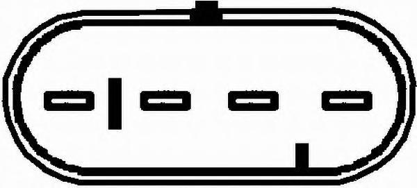6PA009166551 Лямбда-зонд OPEL OMEGA B 2.0 16V
