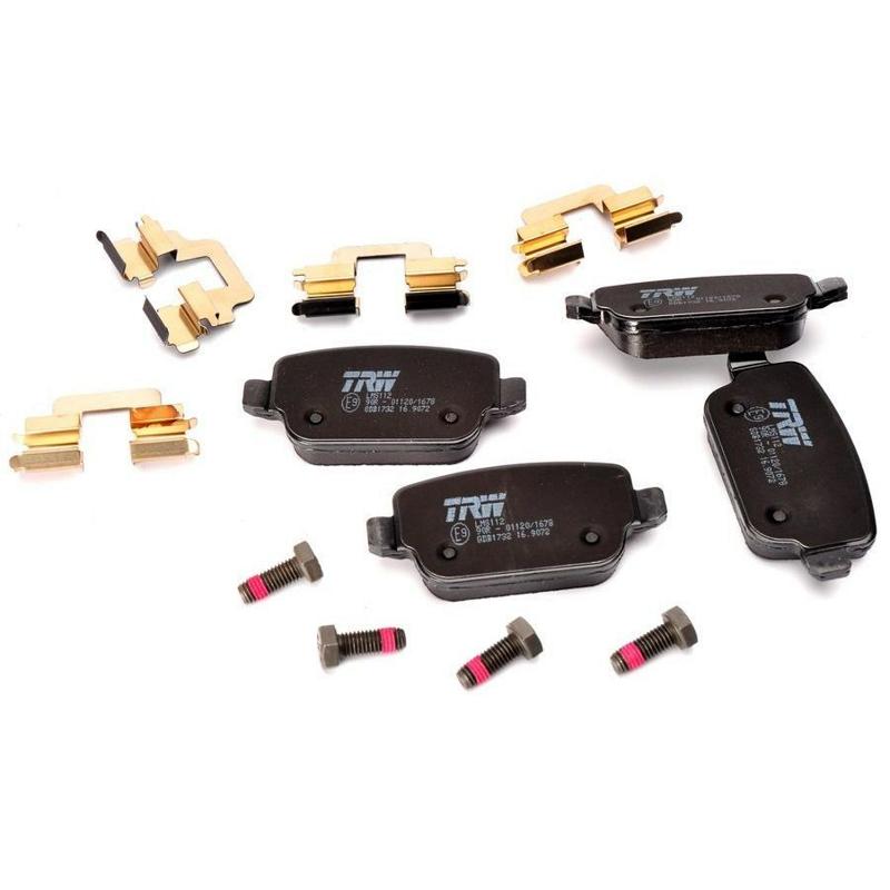 GDB1732 Колодки тормозные FORD GALAXY/MONDEO/S-MAX/VOLVO S80/XC70/FREELANDER 06- задние