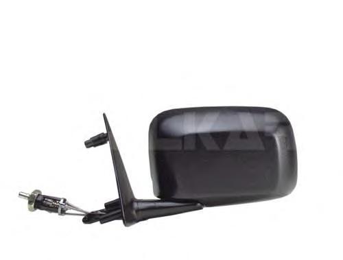 6165120 Зеркало в сборе механическое правое / VW Golf-II,Jetta-II