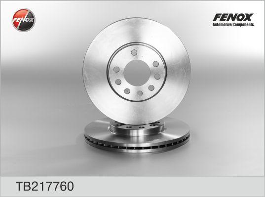 TB217760 Диск тормозной OPEL VECTRA 95-03/SAAB 900 93-98/9.3 98-03/9.5 97- передний