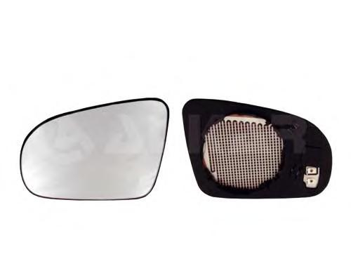 6426417 Стекло зеркала правое,с обогревом / OPEL Corsa-B