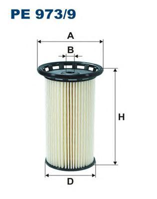 PE9739 Фильтр топливный VAG 1.6D-2.0D 12-