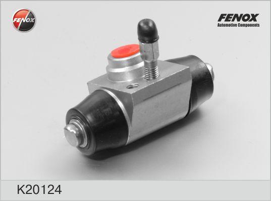 K20124 Цилиндр торм.раб.AUDI 100/80/VW CADDY/G3/PASSAT/SKODA OCTAVIA 88-04