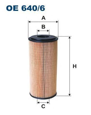 OE6406 Фильтр масляный MB A160/A170 CDI
