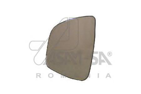 30349 Стекло зеркала RENAULT LOGAN 09- левое с подогревом
